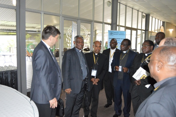 Cardinal Peter Turkson meets with Bishops of Zimbabwe.JPG