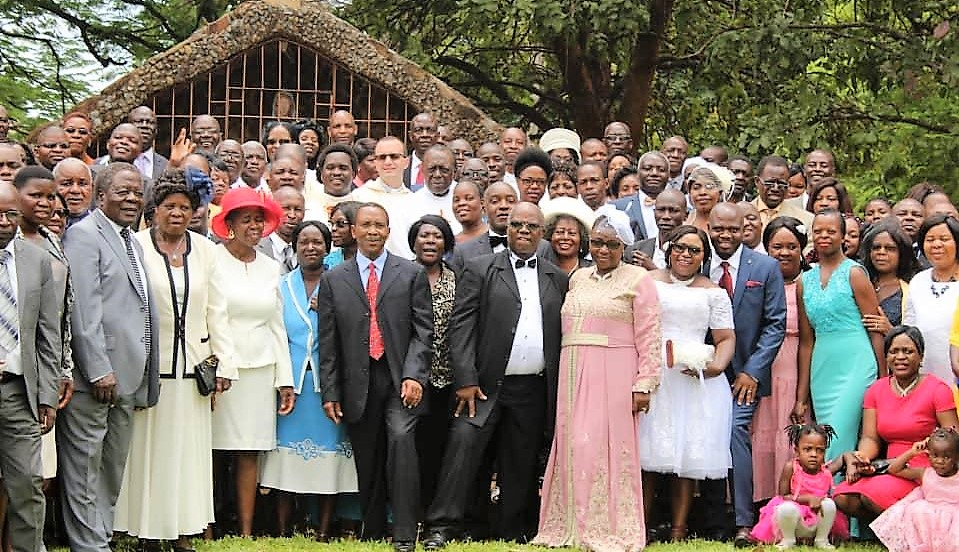 Couples who renewed their marriage vows at St. Peter Canisius parish in Malborough, Harare.