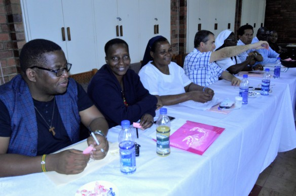 some of the religious superiors at the conference of major religious superiors annual general meeting in harare.