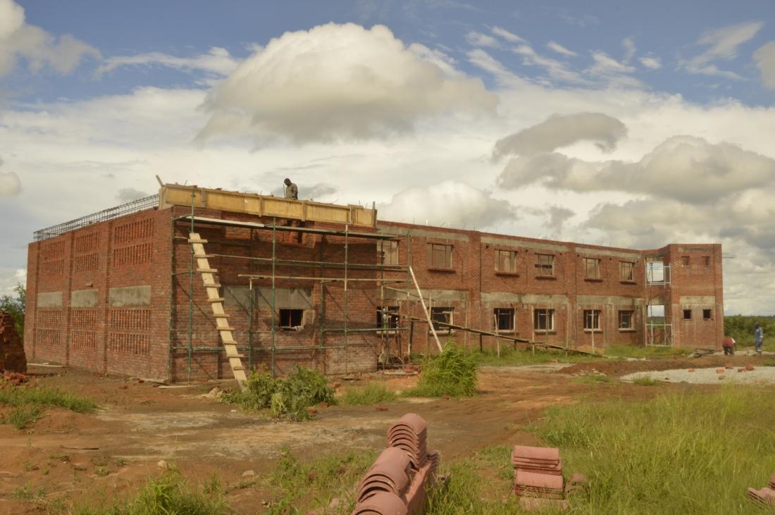 Maryward Secondary School being built in Kwekwe