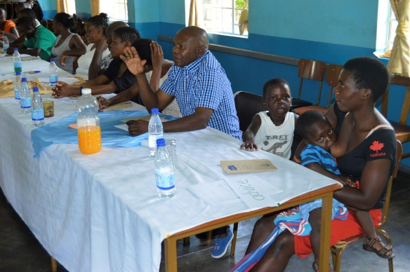 Peace Ambassadors go through some training at Mutare Diocese Pastoral Centre recently.