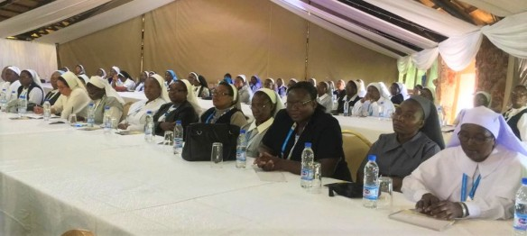 Sisters pay attention during session at the Sister to Sister Conference
