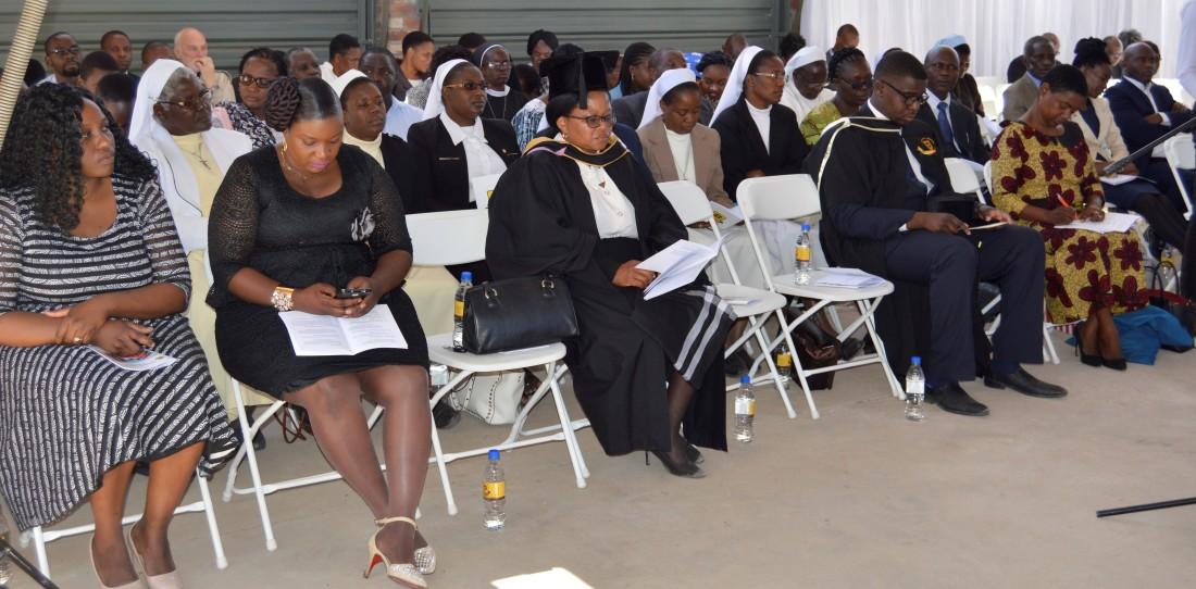 Some delegates at the CUZ 16th graduation.