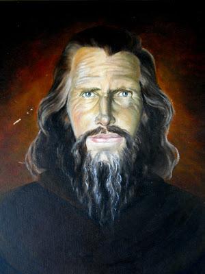 The popular image of John Bradburne