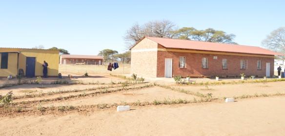 Low Cost Boarding blocks at nemangwe Secondary School.