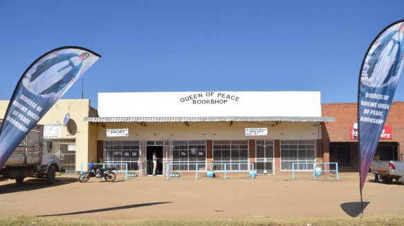 Queen of Peace Bookshop opened in Gokwe Diocese among other income generating projects.