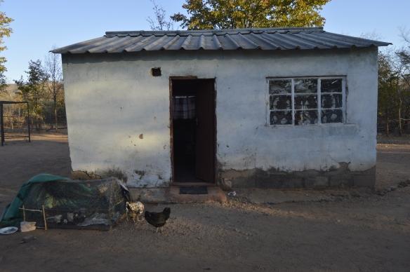 The priest's house at Huchu Masuka Mission in Gokwe.
